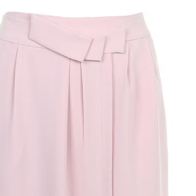 pin-tuck detail skirt pink